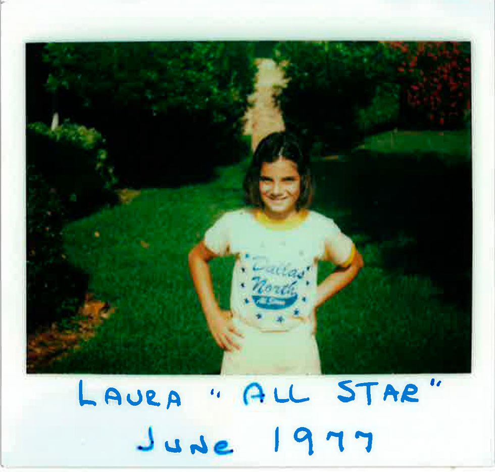 Laura Anton in a June 1977 family photo.
