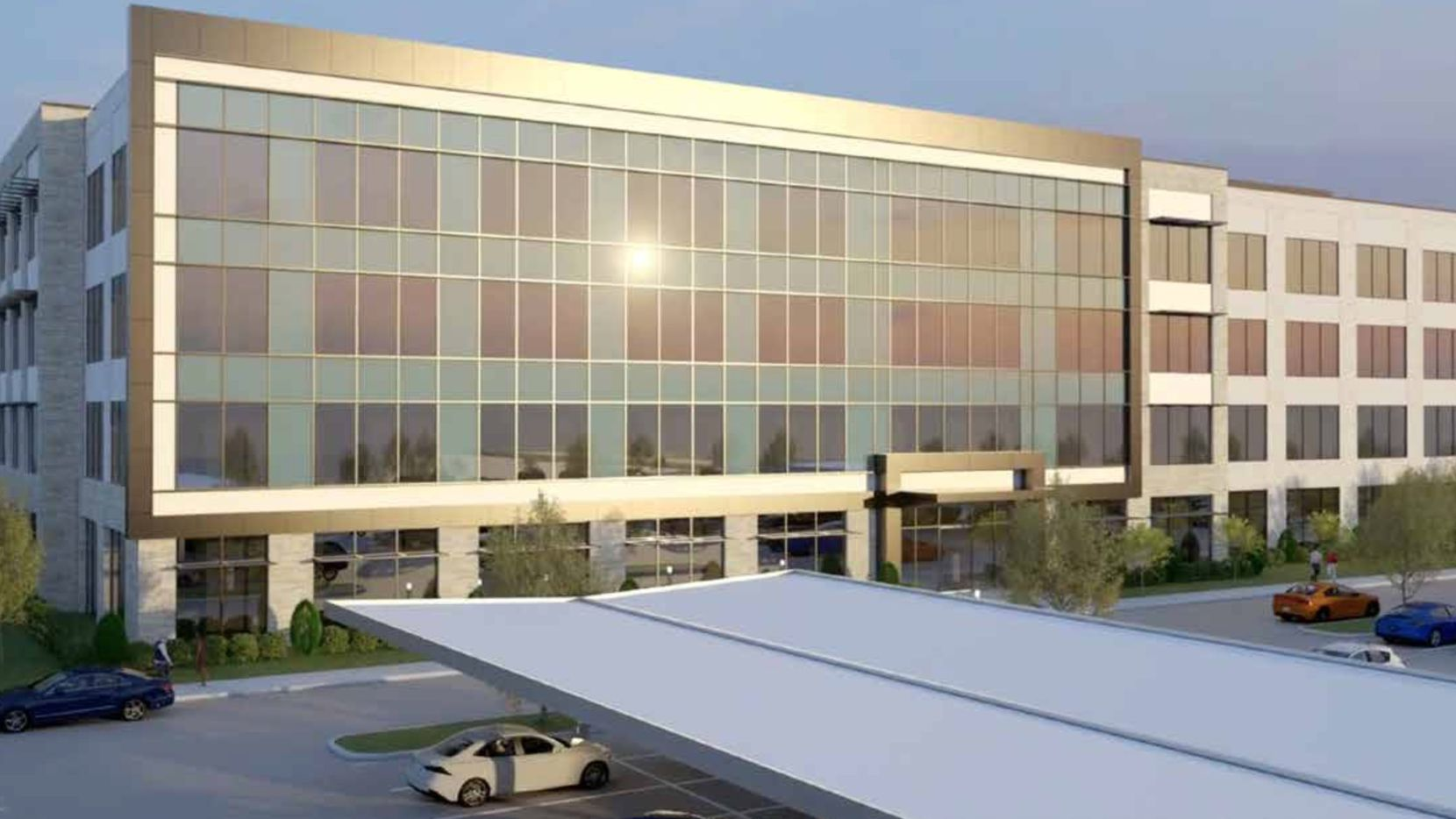 The McKinney Corporate Center II building is planned in Craig Ranch.