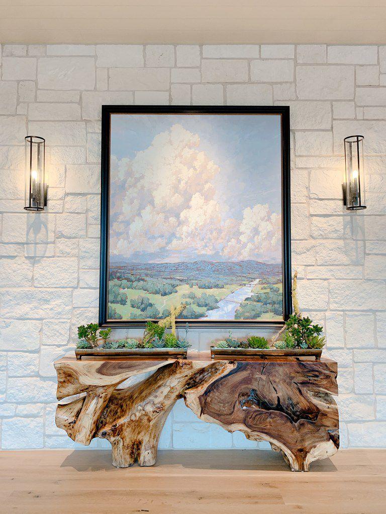 The lobby got a new look at the renovated Omni Barton Creek Resort & Spa.