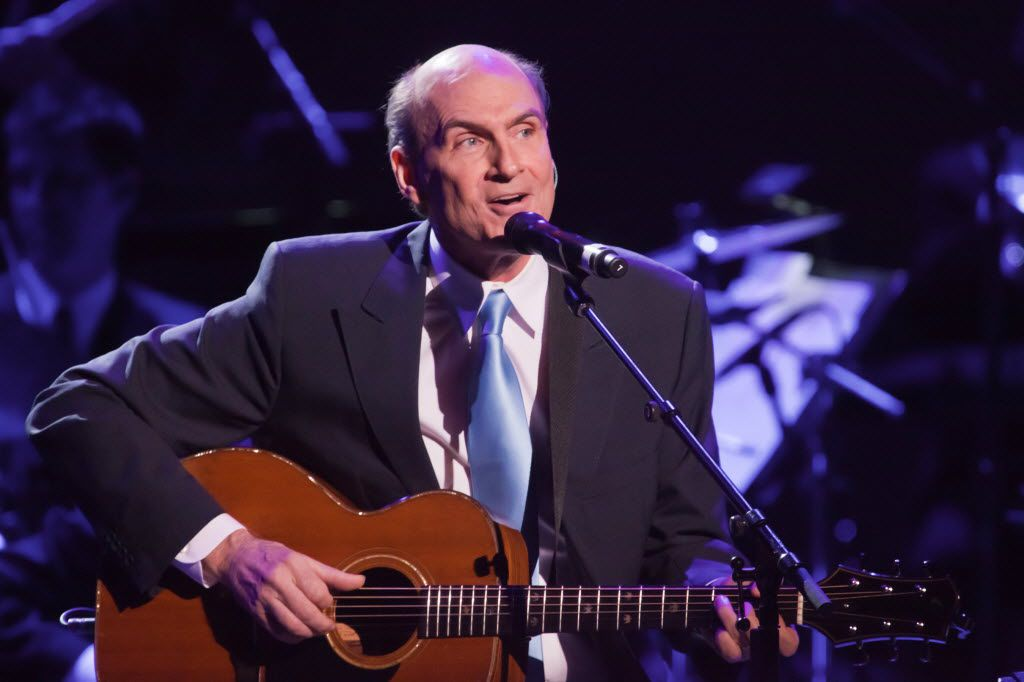 James Taylor is playing sports stadiums around the country on his upcoming tour. He stops July 31 in Frisco, at The Star.