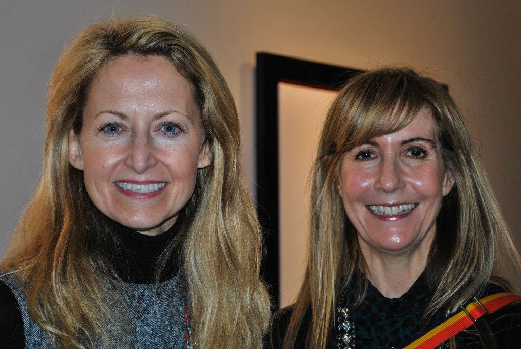 Lynn McBee (left) will get the Texas Trailblazer Award in October. She's shown with Nancy Carlson.