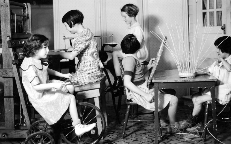 From the beginning, Scottish Rite for Children has helped young patients live healthy and independent lives, particularly during the polio epidemic.
