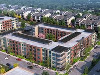 Kalterra Capital Partners is building the Midtown GP project which will have four apartment buildings plus townhomes and shopping.