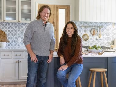 Chip and Joanna Gaines are speaking out against claims being racist and anti-LGBTQ. (Lisa Petrole/Magnolia Network via AP)