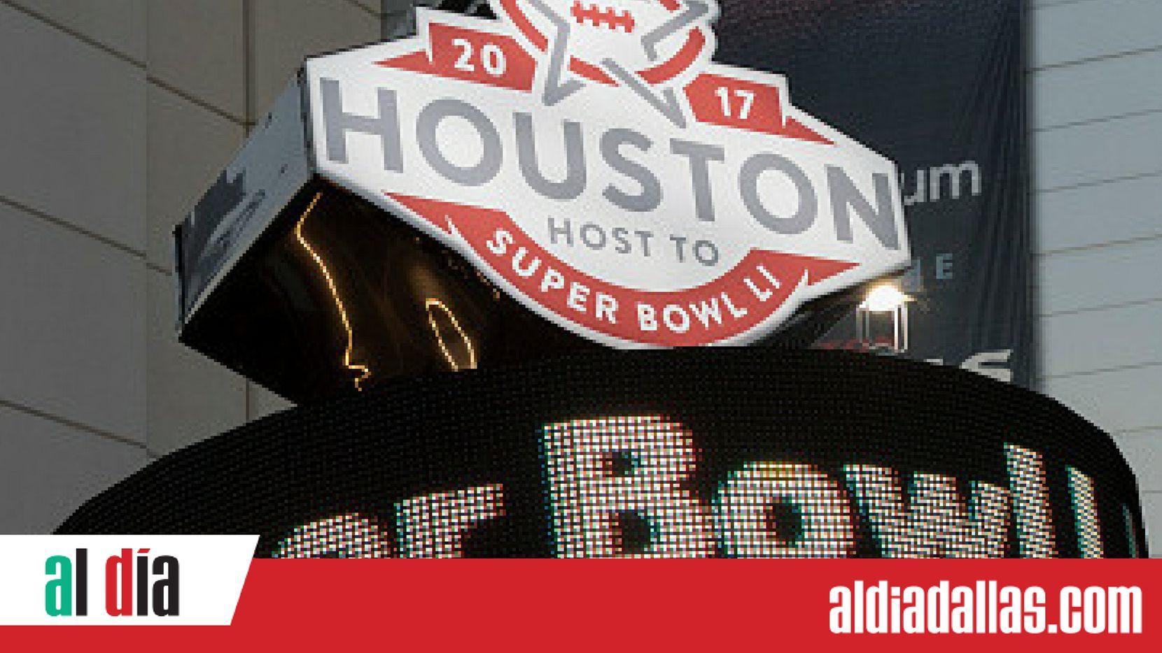 El Súper Tazón se jugará el 5 de febrero de 2017 en Houston. Foto GETTY IMAGES