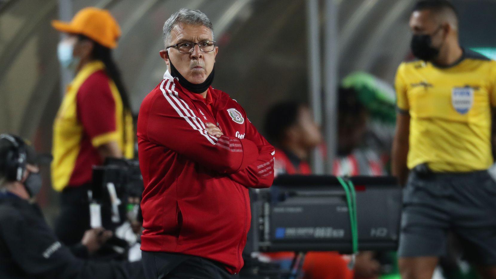 Gerardo Martino enfrentará su primeros partidos de eliminación mundialista como técnico de la selección mexicana.