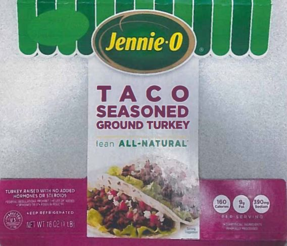 One-pound bags of turkey products from Jennie-O have been recalled because of possible salmonella issues. The recall impacts multiple products sold nationwide.