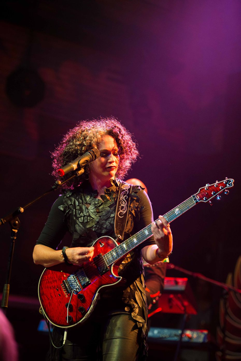 Vanessa Ogle, CEO of Enseo and lead singer/guitarist of GEM, performed at the House of Blues New Orleans in 2016.