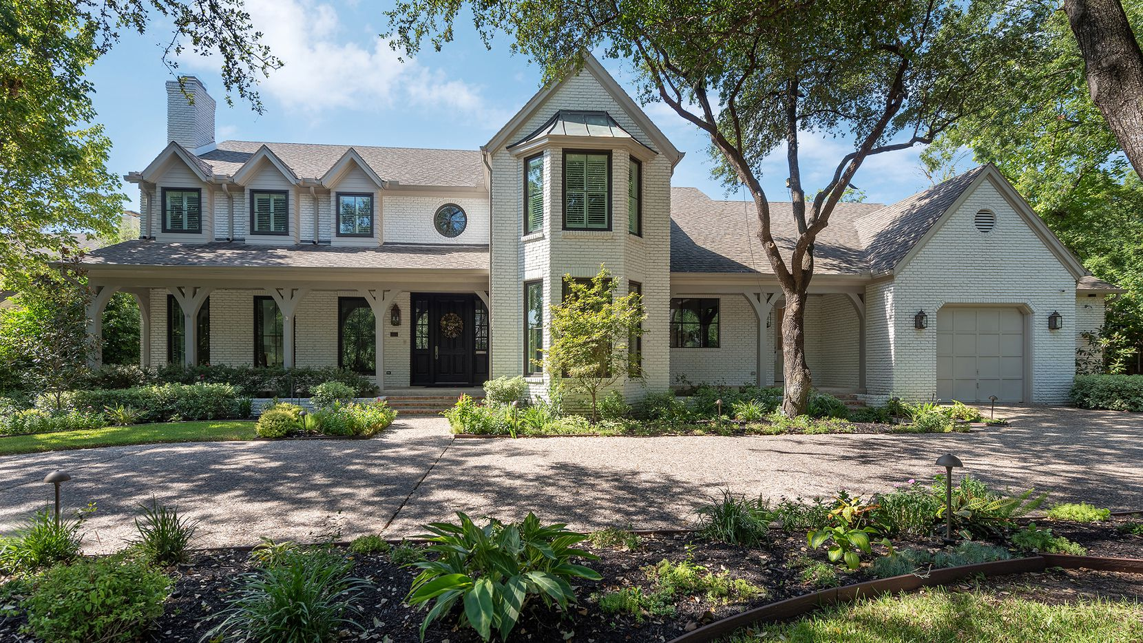 The residence at 5516 Stonegate Drive in Devonshire has five bedrooms and a pool.