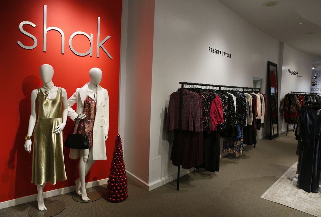 """""""The Shak,"""" the women's contemporary area found upstairs at Stanley Korshak in Dallas."""
