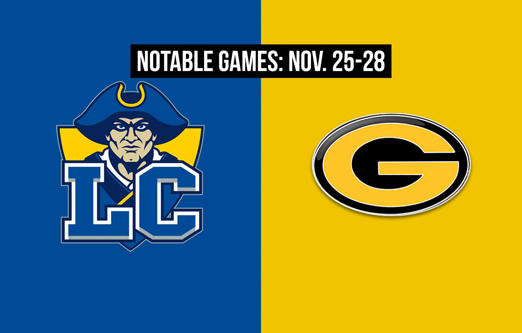 Notable games for the week of Nov. 25-28 of the 2020 season: Garland Lakeview Centennial vs. Garland.
