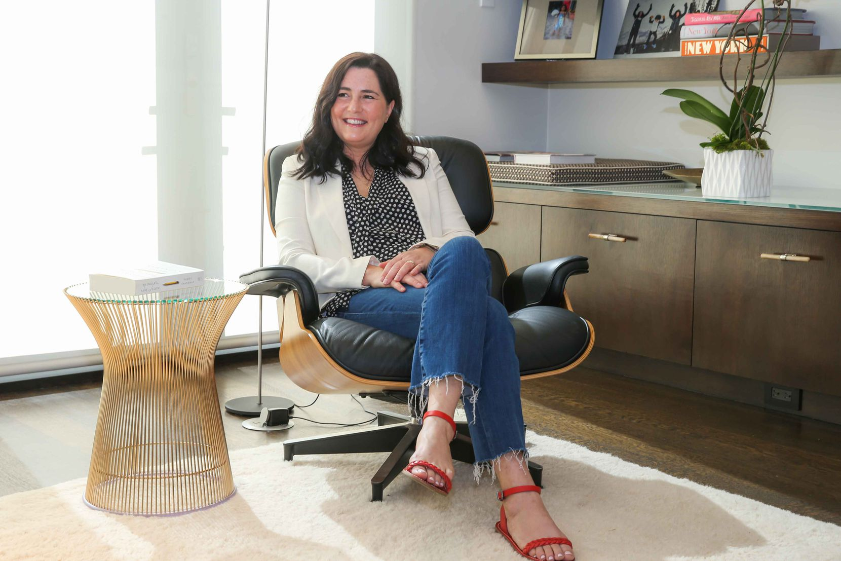 "Mandy Ginsberg, former CEO of Dallas-based Match Group, describes herself as a ""heads-down operator"" who rolls up her sleeves and works with teams."