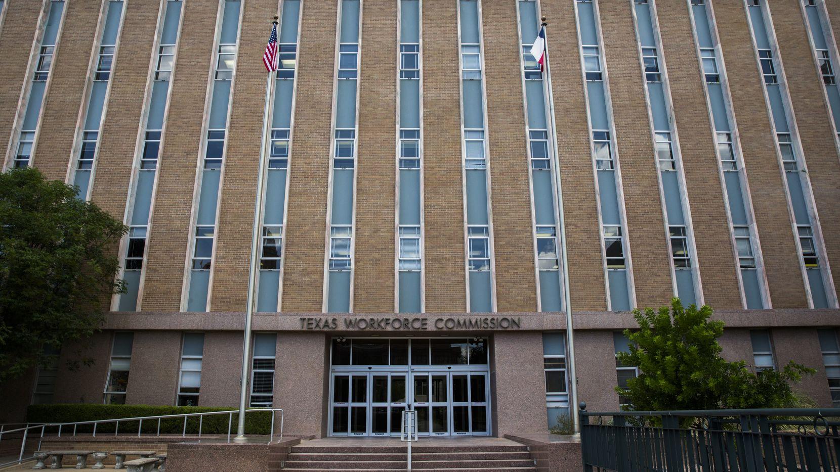 La sede de la Comisión de Fuerza Laboral de Texas, en Austin.