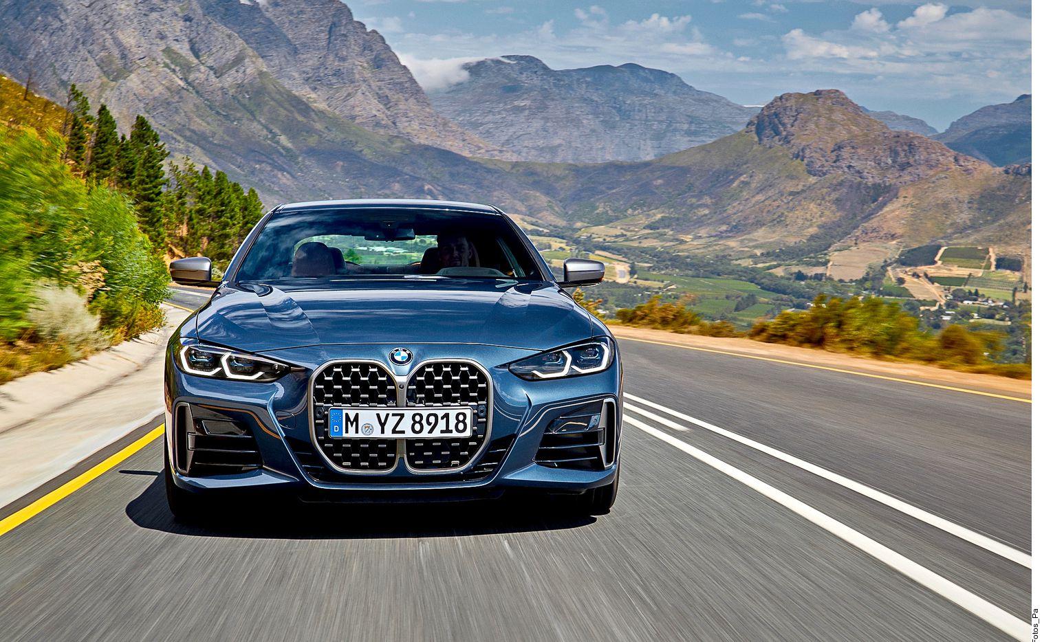 El nuevo diseño del BMW Serie 4 busca diferenciarse del sedán Serie 3, de hecho, es 6 centímetros más bajo que éste, al tiempo que se estrena una línea de hombros más pronunciada que se logró al ensanchar el eje trasero en 2.3 centímetros.