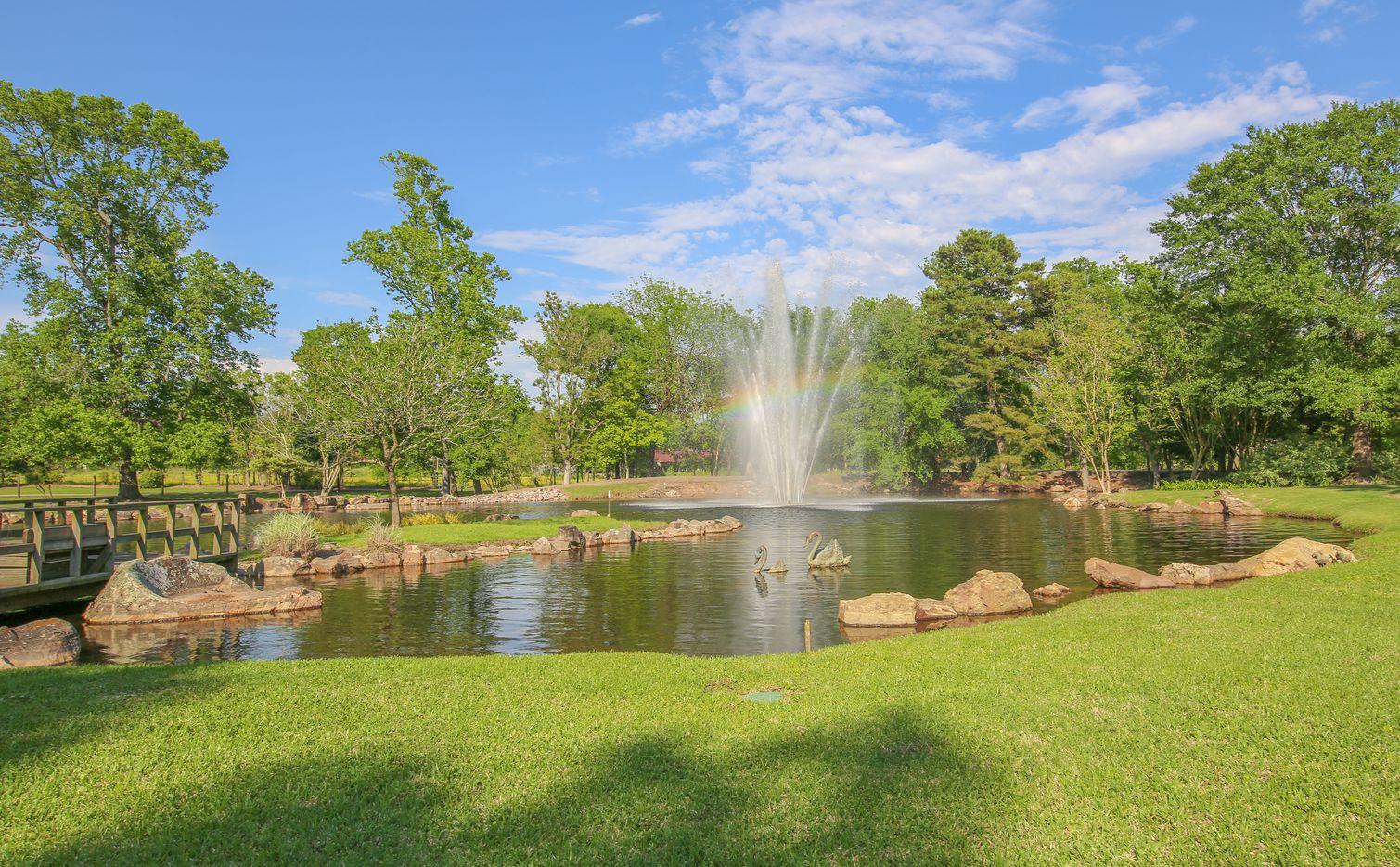 The Pilgrim Estate is on 43 acres.