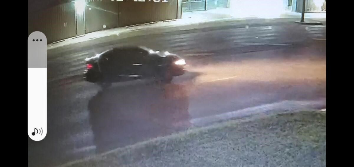 Police released this image of a vehicle of interest in the case.