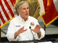 Governor Greg Abbott speaks during a press conference with an update on the state's response to the winter weather at the Alternate State Operations Center on Friday, February 19, 2021in Austin. (screenshot)