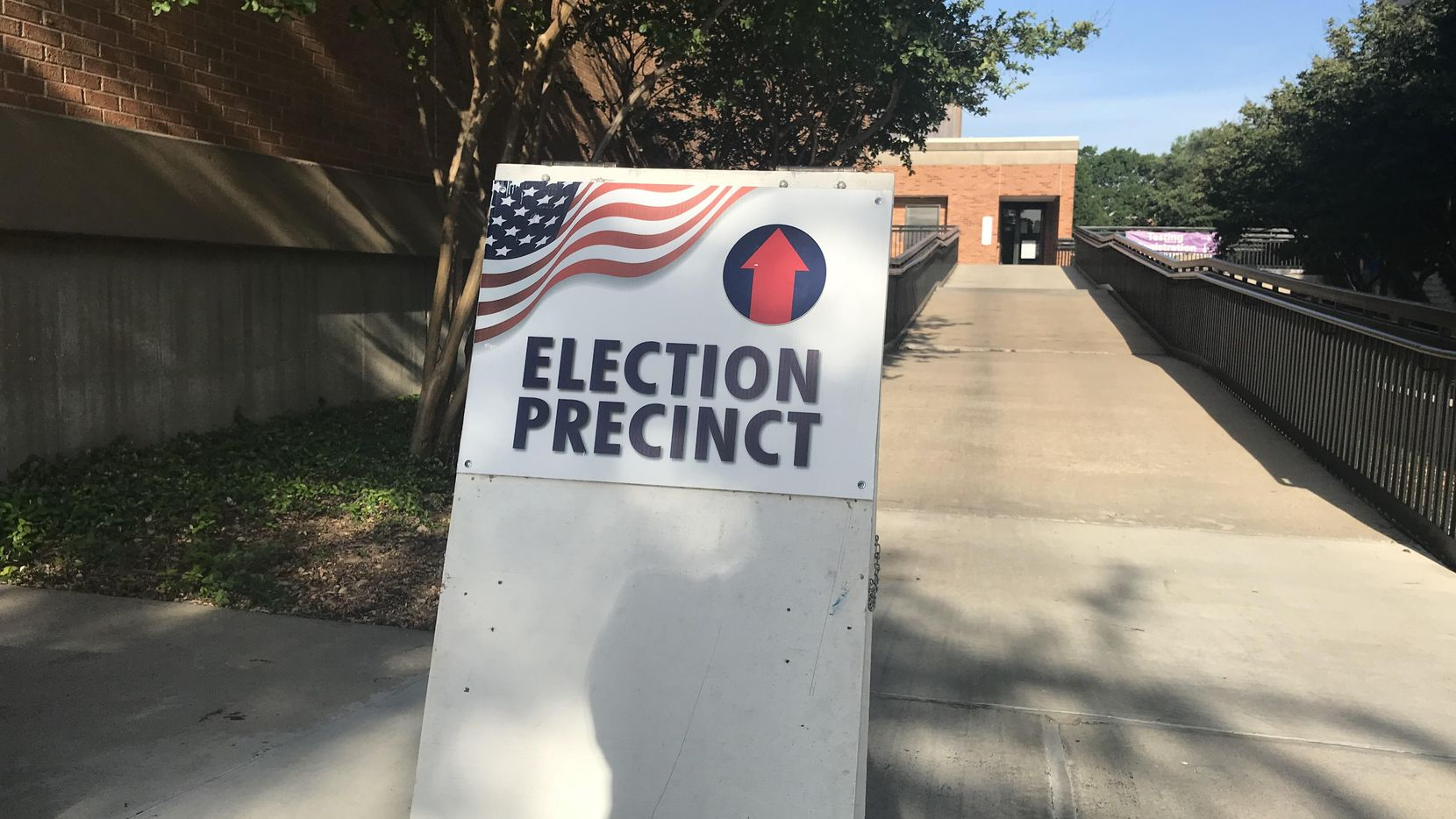 Una casilla electoral en el Condado de Dallas.(AL DIA)