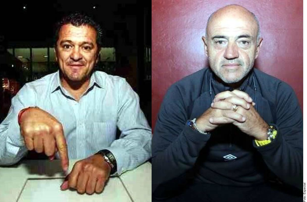 Pelea entre Carlos Hermosillo y José Luis Sánchez Solá, 'Chelis'.