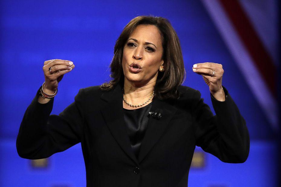 Kamala Harris, senadora.