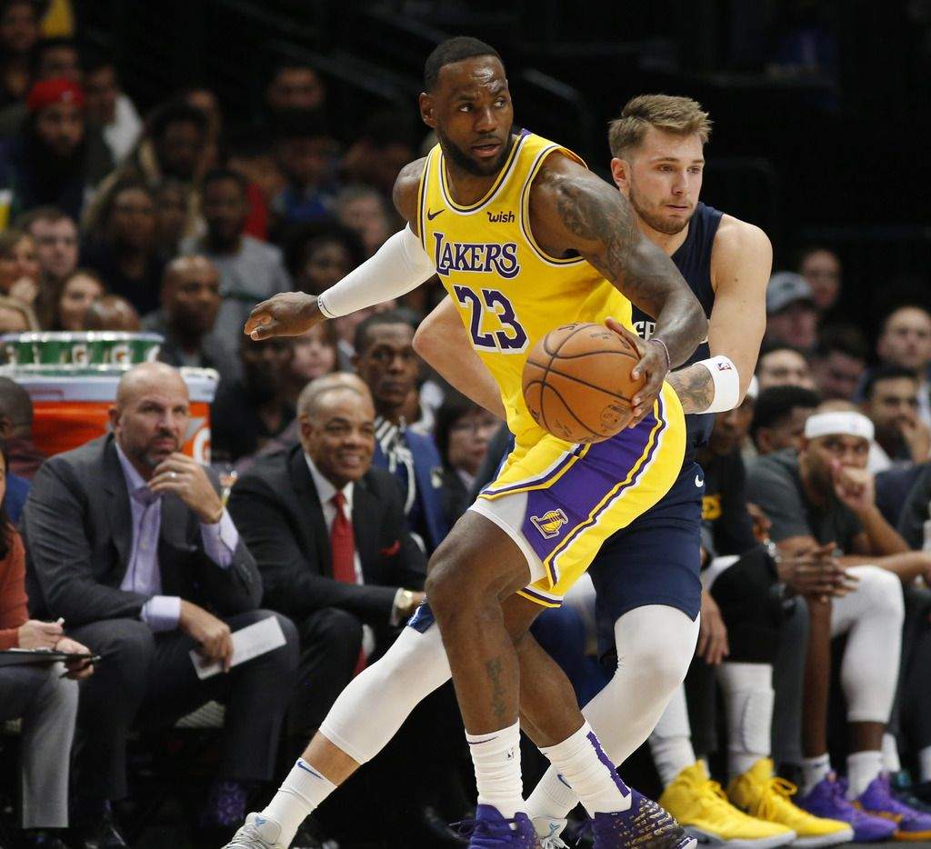 Lebron James Says Mavs Luka Doncic Just Plays The Game The