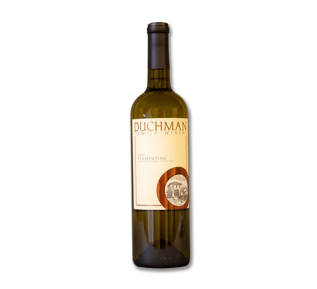 Duchman Family Winery Vermentino, 2017, Texas