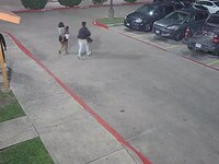 Surveillance footage released by Garland police shows two of three women suspected of kidnapping a 20-month-old boy from a motel room.