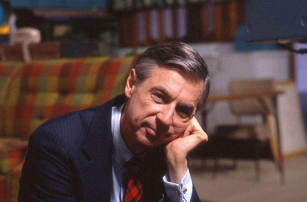 Fred Rogers, featured in the film Won't You Be My Neighbor?