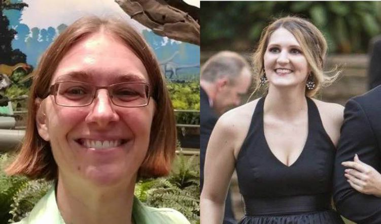 Megan Leigh Getrum, left, and Molly Matheson, right, were both killed