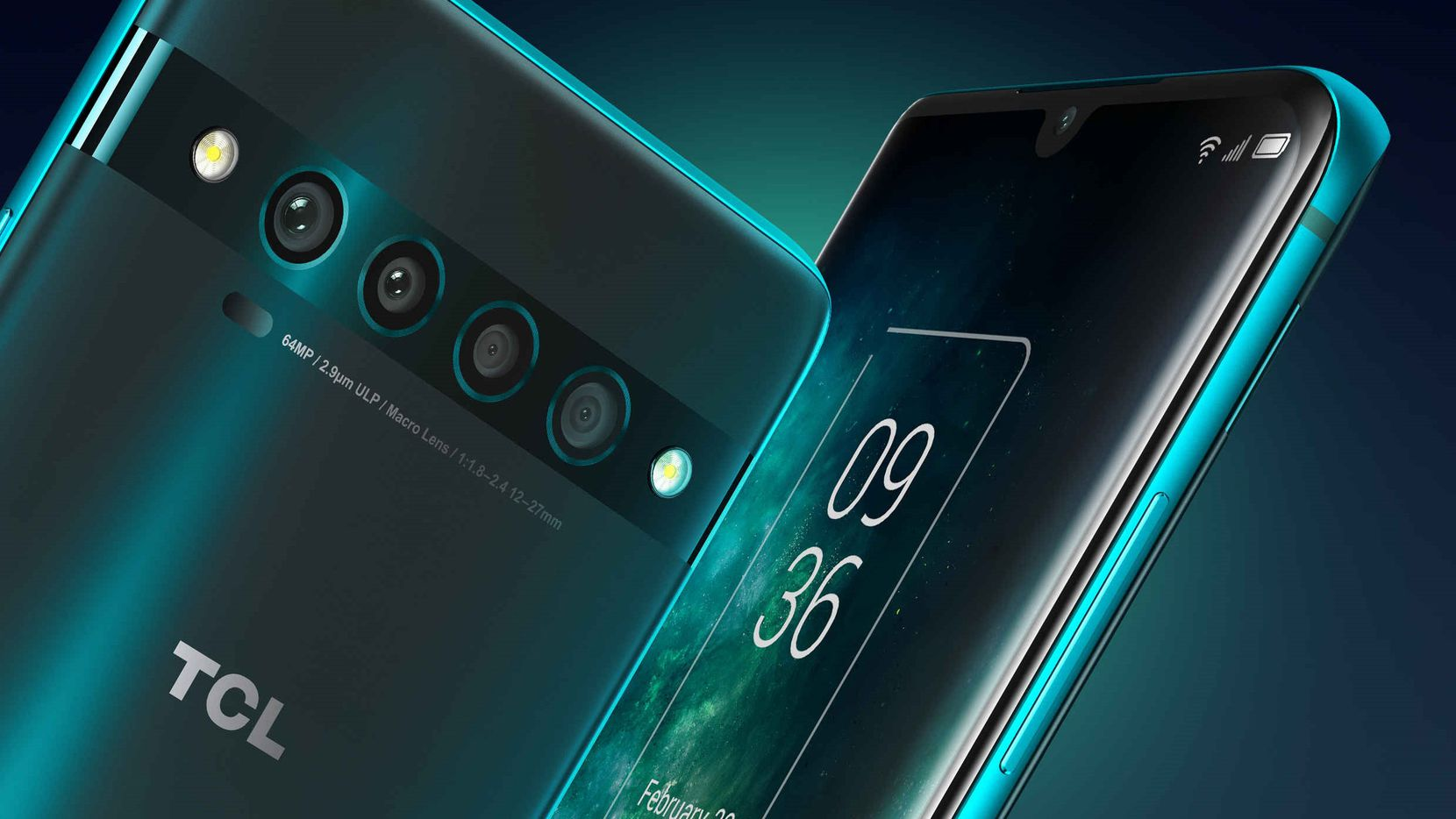 TCL 10 Pro certainly has the looks of a flagship phone.