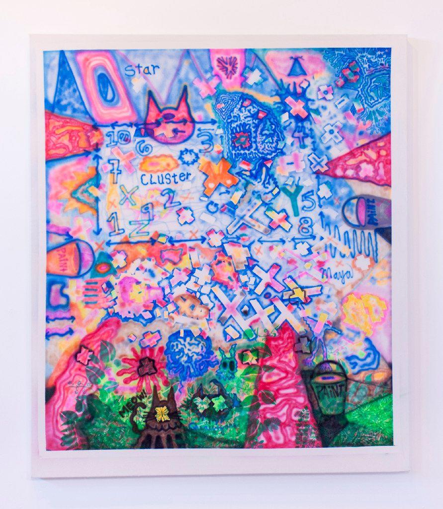 This piece is Star Quasar, by Dallas artist Jeff Parrott