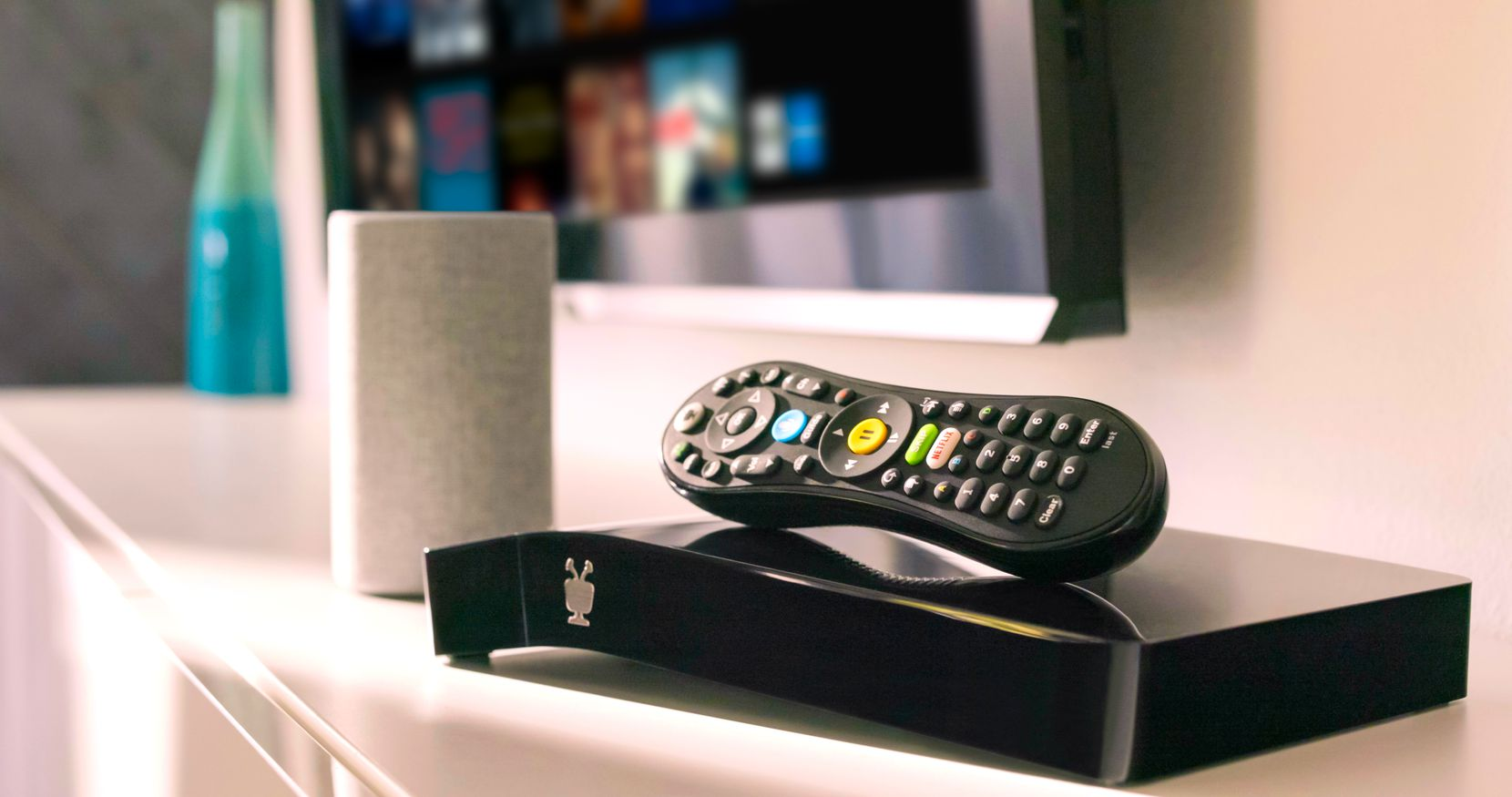 TiVo Bolt over-the-air DVR.