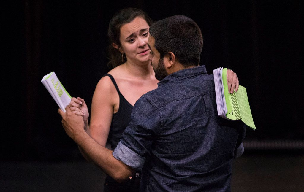 Dani Nelson and Ruben Carrazana play a couple debating whether it's right to have kids, considering the state of the world. They star in Stage West Theatre's production of British playwright Duncan Macmillan's Lungs.