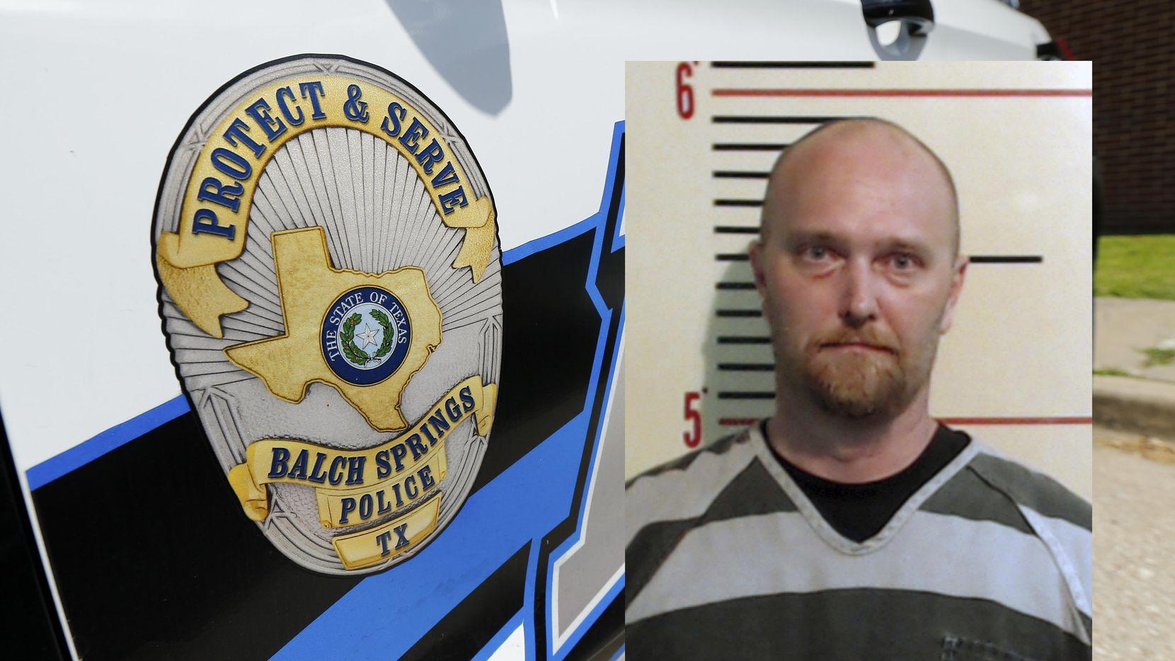 El ex agente de la policía de Balch Springs Roy Oliver. DMN (DMN/Tom Fox)