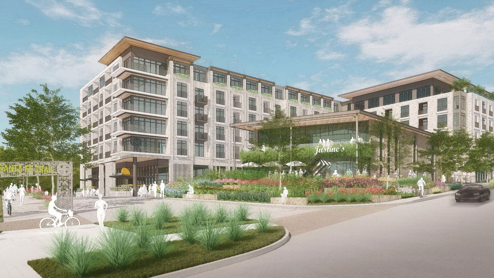 Developers will have to reduce the height of the proposed Trailhead project by about one floor under the zoning change approved by the city council.