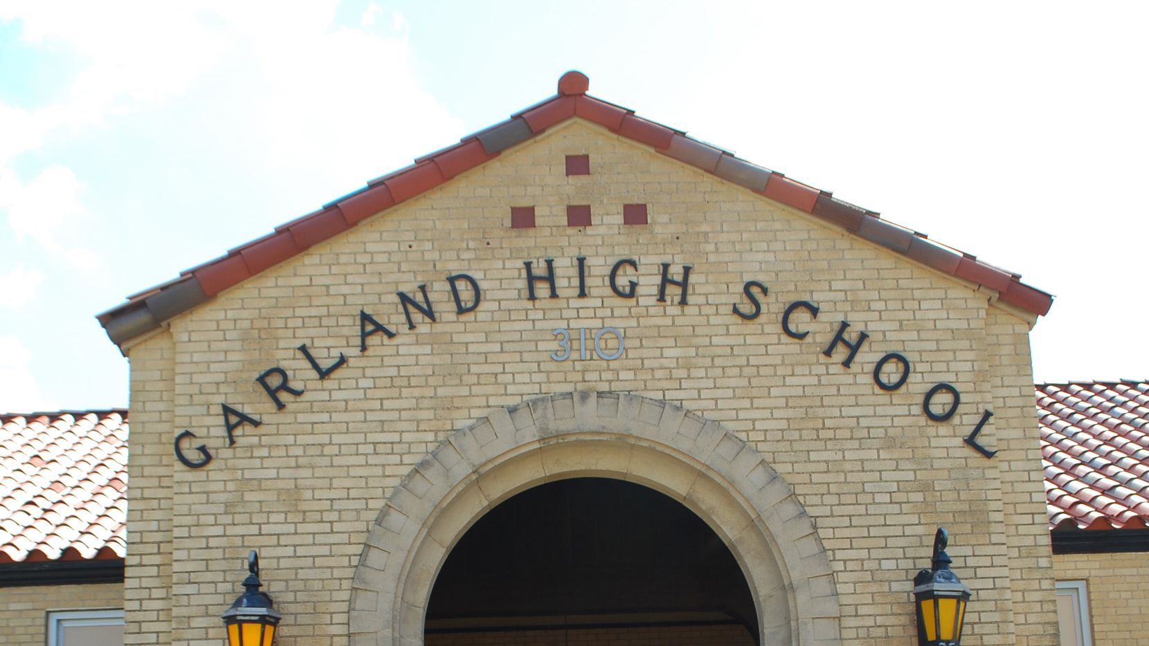 Classes were canceled Tuesday at Garland High School because of a gas leak.