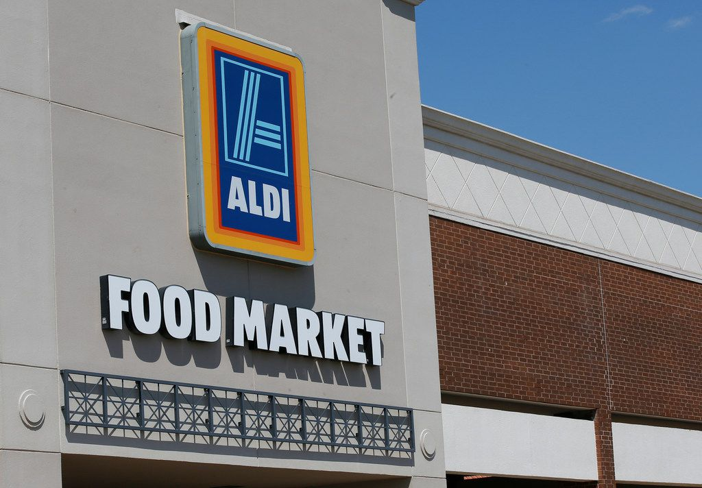 An Aldi store is pictured in Oklahoma City, Tuesday, May 30, 2017. (AP Photo/Sue Ogrocki)