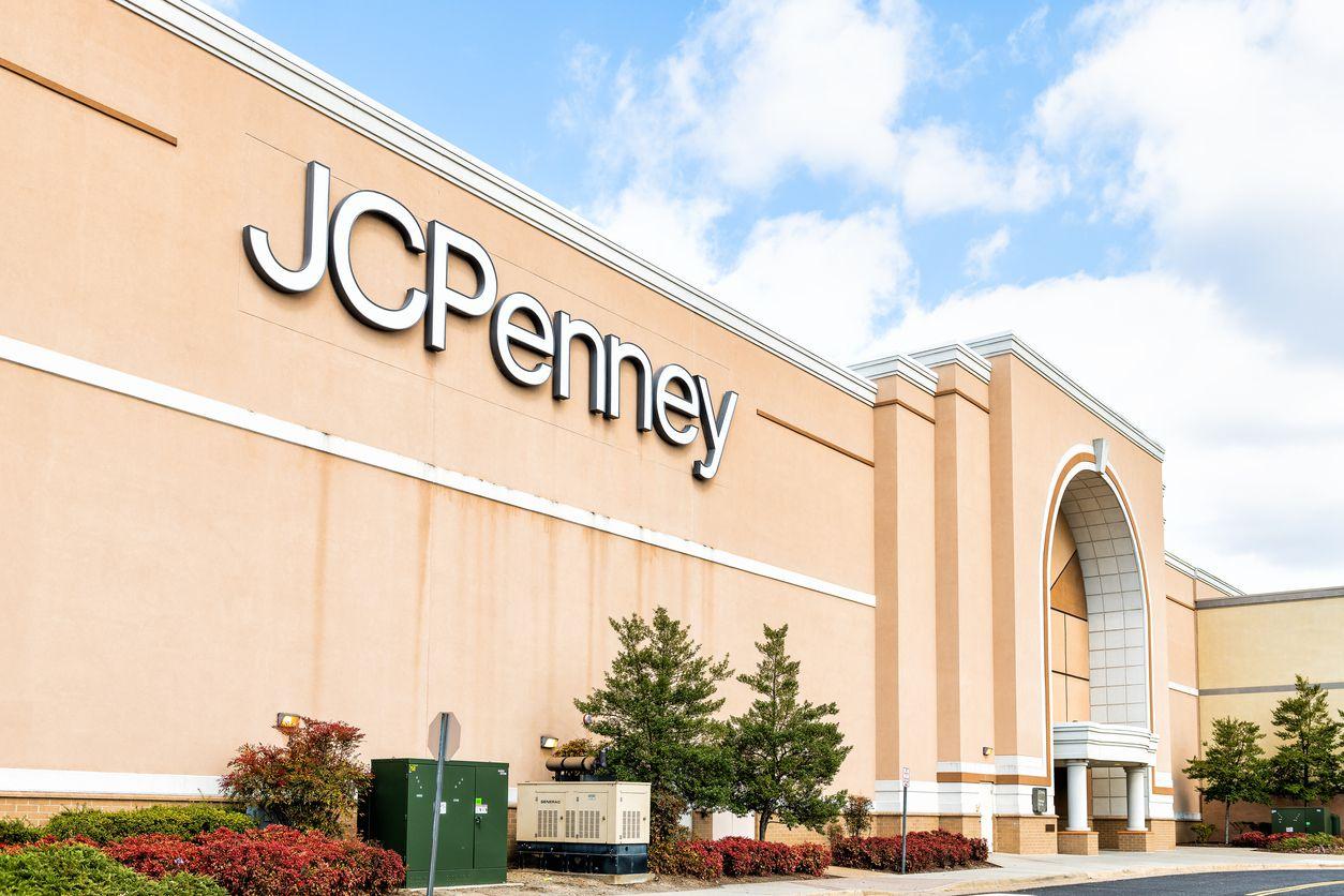 Local de la tienda departamental JC Penney.