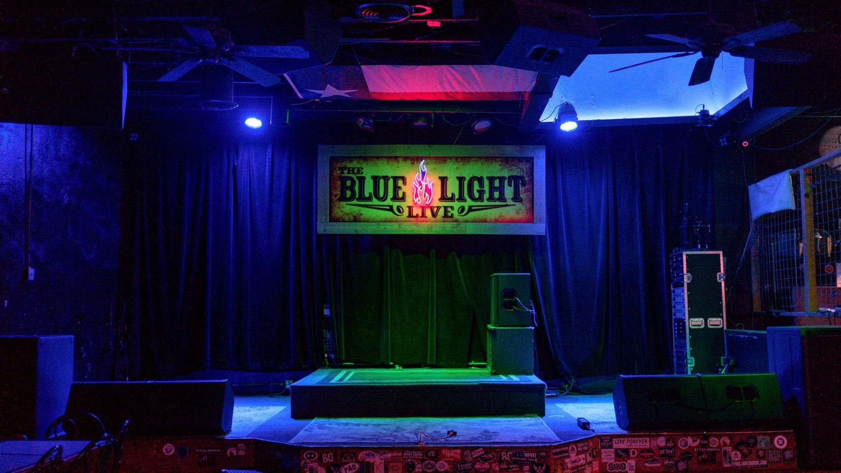 The stage of the Blue Light Live in Lubbock will have a sister location in Deep Ellum next year.