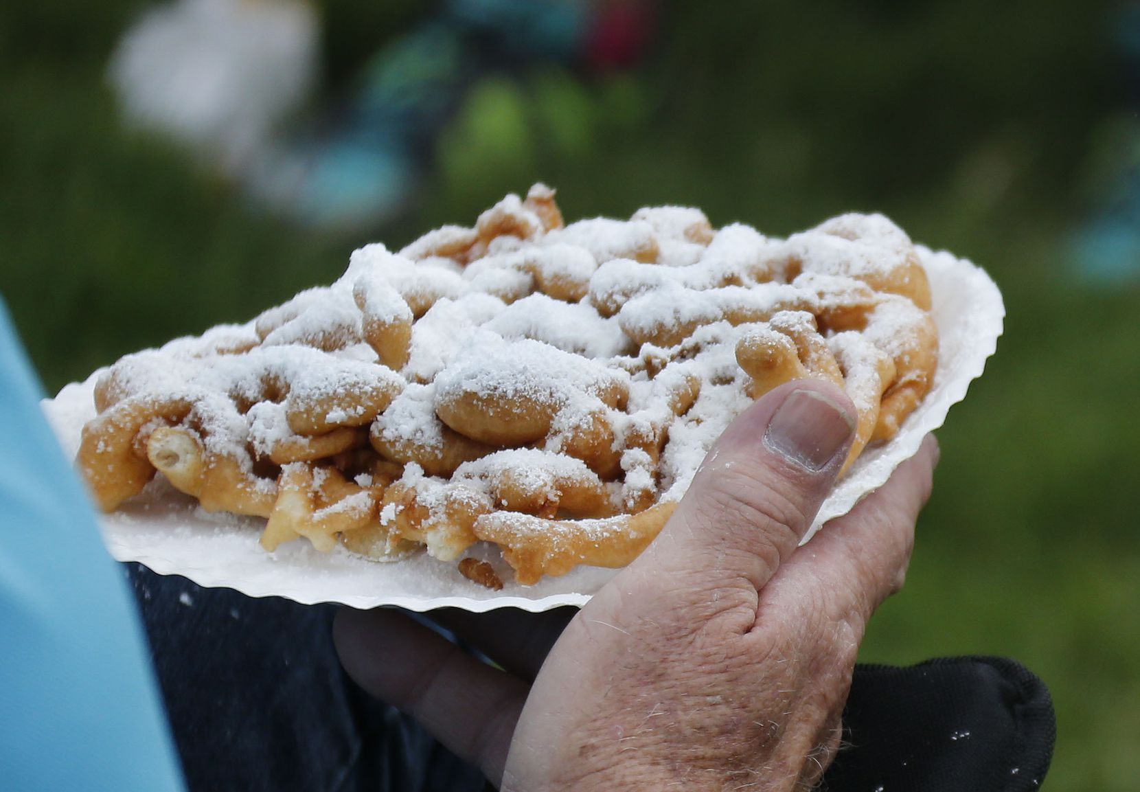 Funnel cakes, if you can believe it, have only been at the fair since the '80s.