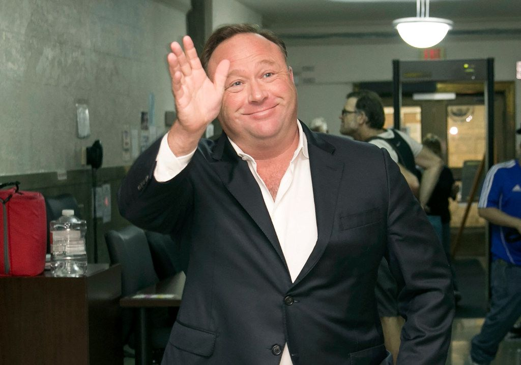 Alex Jones is trying to fend off lawsuits filed by multiple Sandy Hook Elementary families accusing him of making intentionally false factual statements.