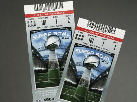 Los boletos de Super Bowl siempre han sido muy codiciados por los aficionados y por los negocios que se dedican a la reventa legal.