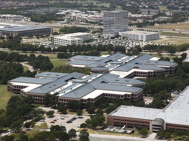 The 1.8 million square-foot J.C Penney headquarters campus in Plano was being converted into a $1 billion mixed-use project with offices, retail, apartments and hotel.
