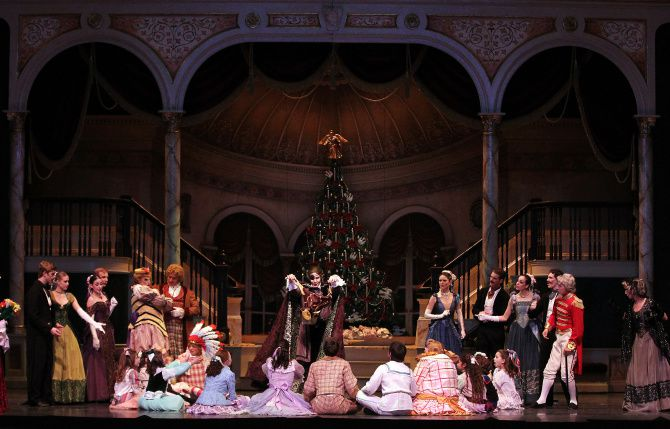 """The Texas Ballet Theater's """"The Nutcracker"""" production is pictured during dress rehearsal at Bass Hall in Fort Worth, in this file photo. Richardson's Repertory Company Theatre will be holding a summer camp next week to teach students the skills to perform Broadway shows."""