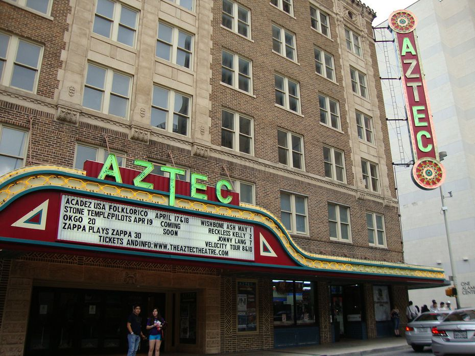 Paranormal experts have reported the presence of ghosts for decades at San Antonio's historic Aztec Theatre.