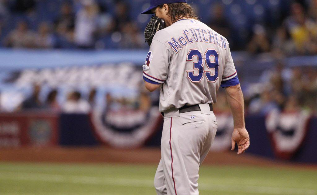 Texas Rangers option Daniel McCutchen to Round Rock ...