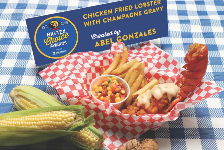 """Save your coupons: Abel Gonzales' fried lobster is going to be pricey. And how does it taste? """"Decadent,"""" he says."""