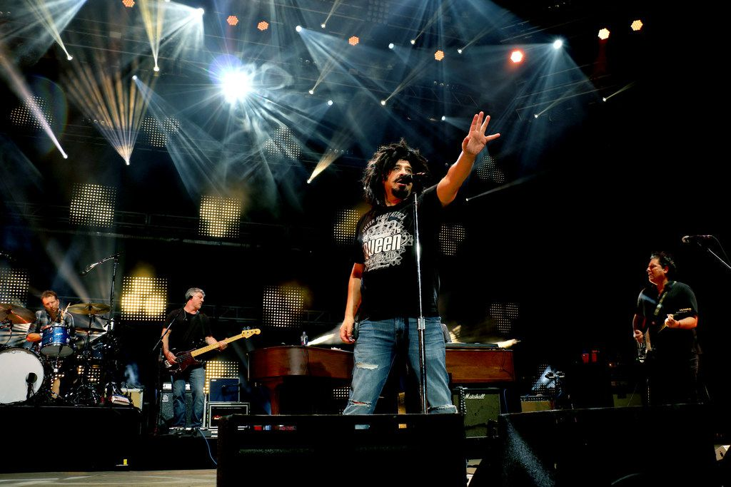 The Counting Crows perform in 2018.