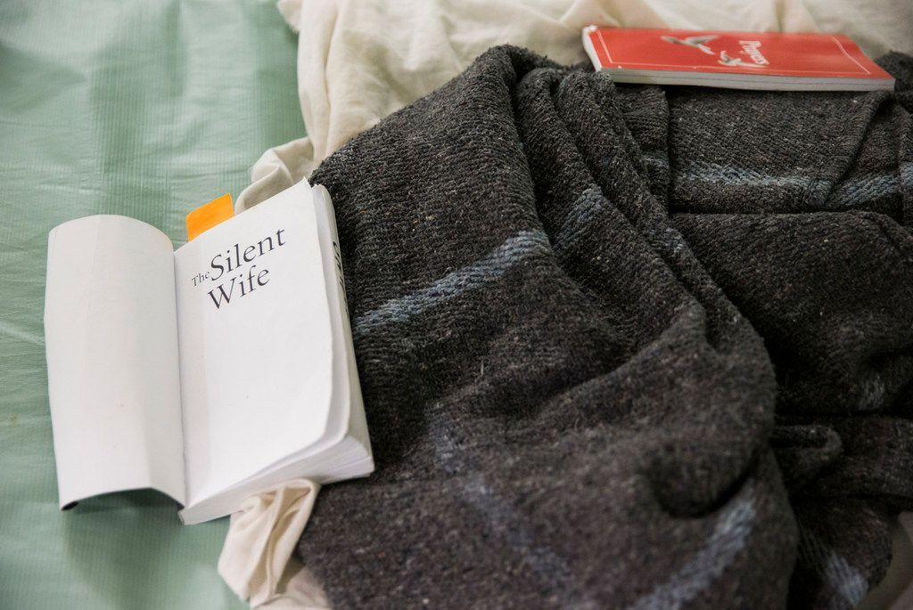 A book called The Silent Wife and a book of prayers lie on a female inmate's bed at the Burnet County jail. County officials in Burnet inadvertently managed to capitalize on a trend: A growing number of women in Texas jails. Burnet houses female inmates for several other counties.