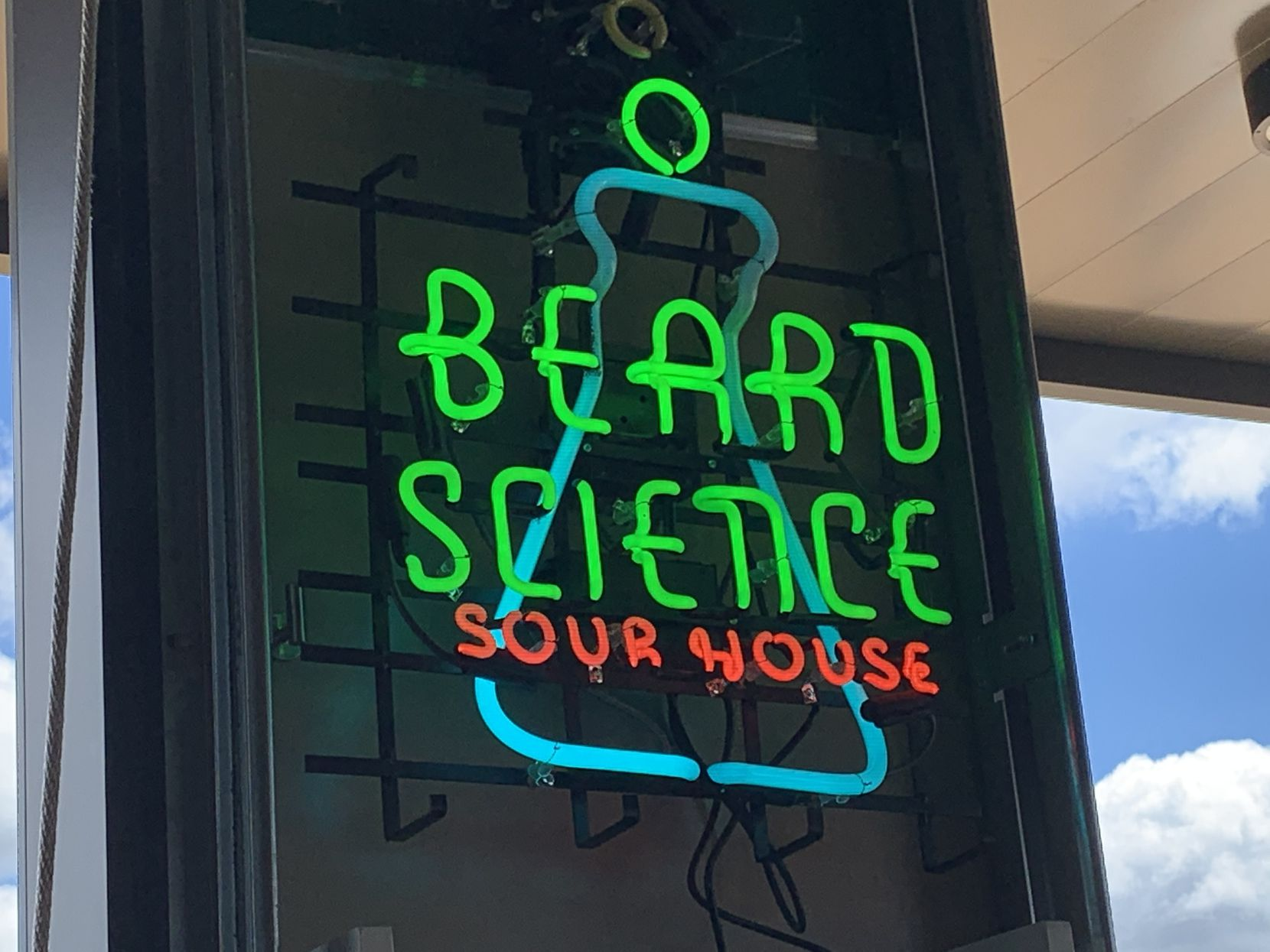 Beard Science Sour House in The Colony offers only sour beers.